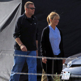 Jennifer Aniston Filming We're the Millers | Pictures