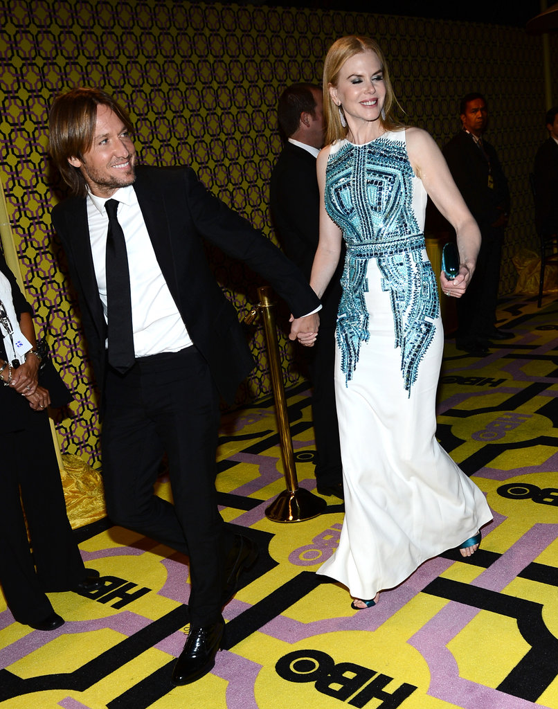 Keith Urban and Nicole Kidman made a gorgeous couple at the Emmys.