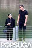Ryan Gosling was on set with Rooney Mara.