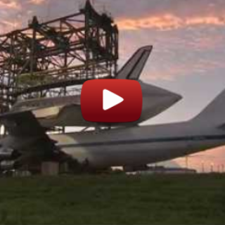 How the Space Shuttle Is Carried on a Plane