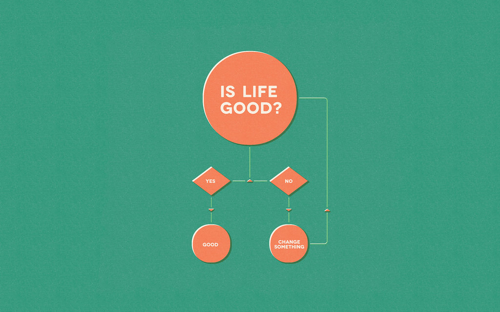Is Life Good? by Gustavo Veiro
