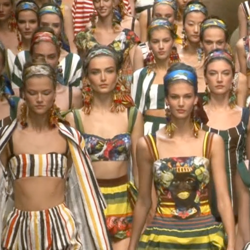 Watch Dolce & Gabbana's Spring Summer 2013 Milan Fashion Week Runway Show in Action!