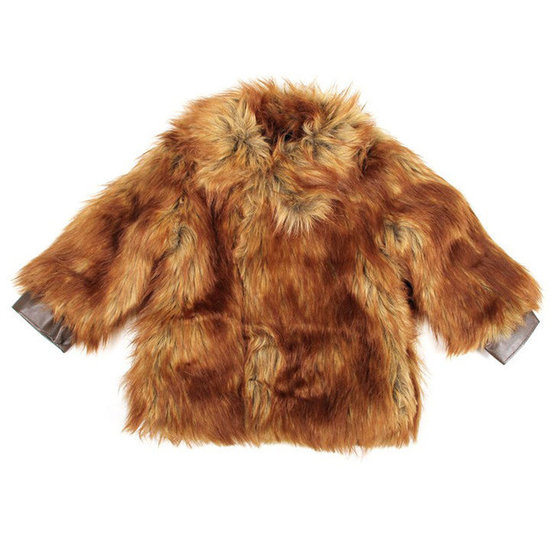 Mini Rodini Faux-Fur Jacket