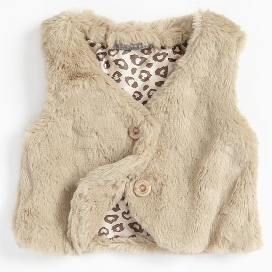 Pumpkin Patch Faux-Fur Vest