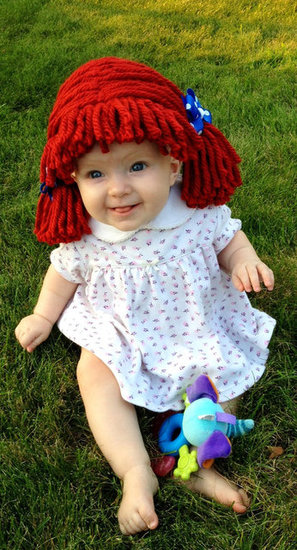 Newborn Raggedy Ann Wig