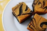 Pumpkin Spice Cheesecake Brownies