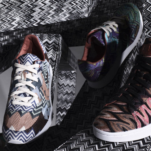 Missoni and Converse Create One-of-a-Kind Collaboration