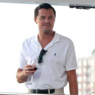 Leonardo DiCaprio Filming on a Yacht in NYC | Pictures