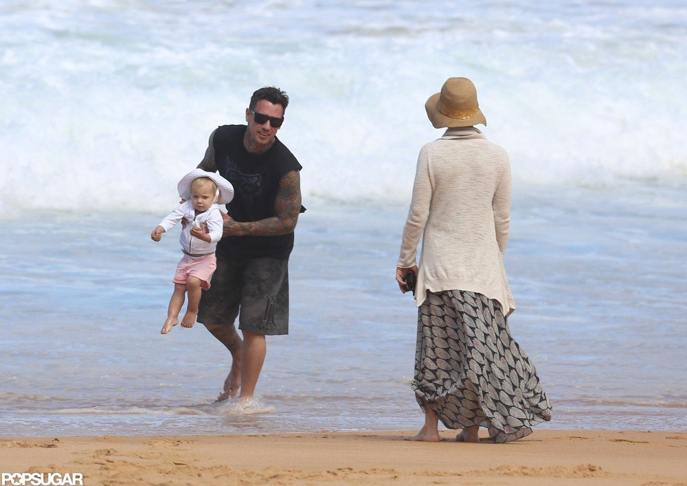 Pink Celebrates Her Number-One Status in Sydney With Carey and Willow