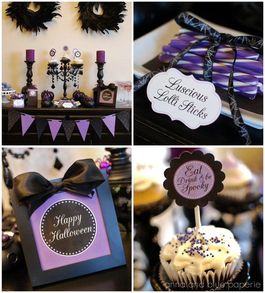 Haute Halloween Printable Party