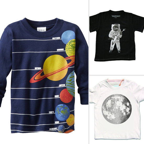 Blast Off With a Space-Themed Tee
