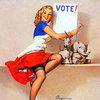 Vintage Voting Posters