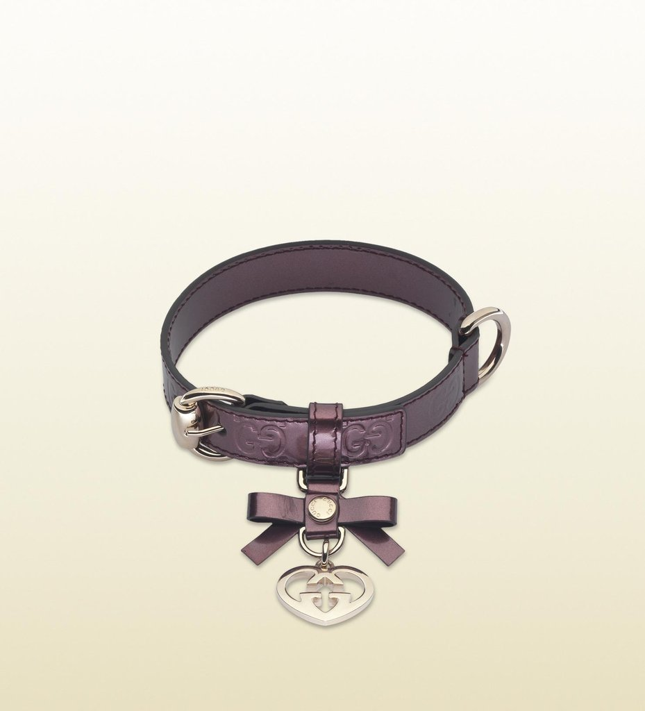 Gucci Adjustable Leather Collar
