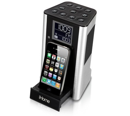 iHome Kitchen Timer and Clock Radio Dock For iPhone/iPod ($100)