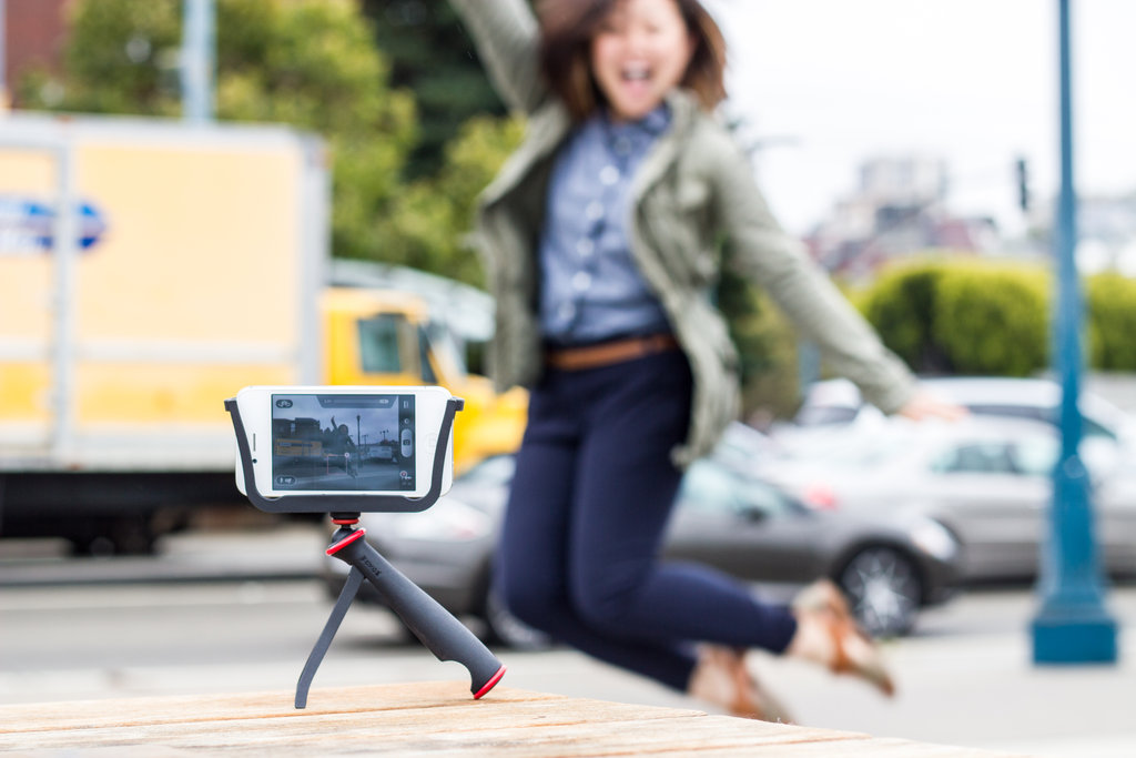 The SlingShot Phone Grip and Tripod ($20)