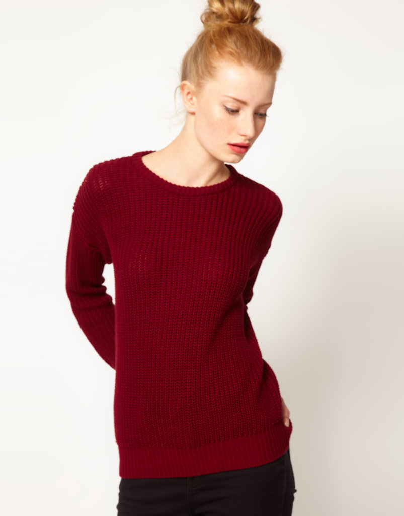 The easiest way to adopt Fall's color movement is on a basic sweater you can throw on every day for a better-than-basic ensemble. American Apparel Fisherman's Sweater ($114)