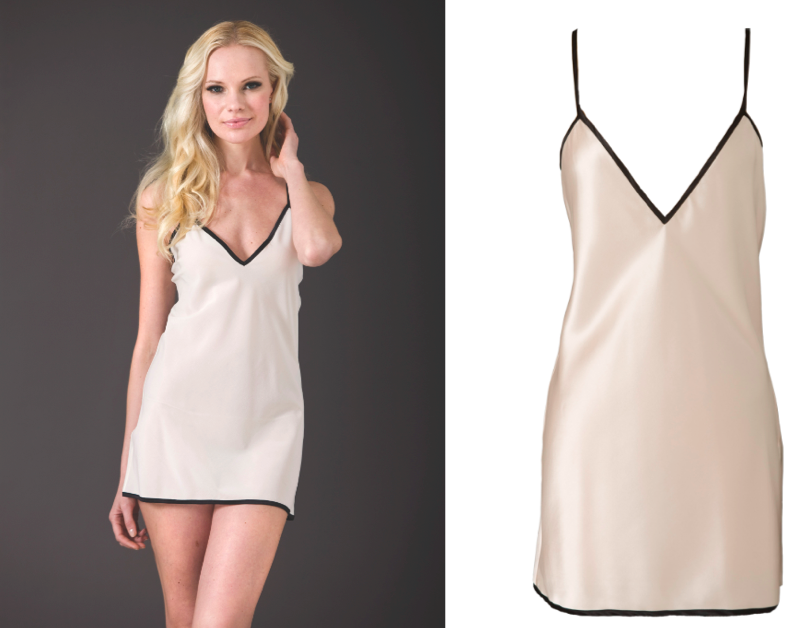 Thirty percent of sales from this sleek silk Brulee Boudoir Chemise ($168) will go to the Breast Cancer Research Foundation.