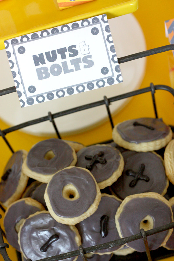 Nuts and Bolts Cookies . . .