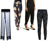 Shop More Sheer Trousers