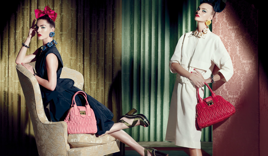 Miu Miu Resort 2013 Ad Campaign