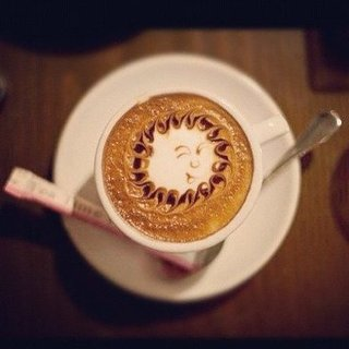 Latte Art Photos