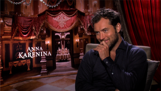 "Jude Law Says His Character in Anna Karenina Is Not ""Just a Convenient Bad Guy"""