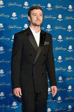 Justin Timberlake hit the red carpet at the Ryder Cup Gala.
