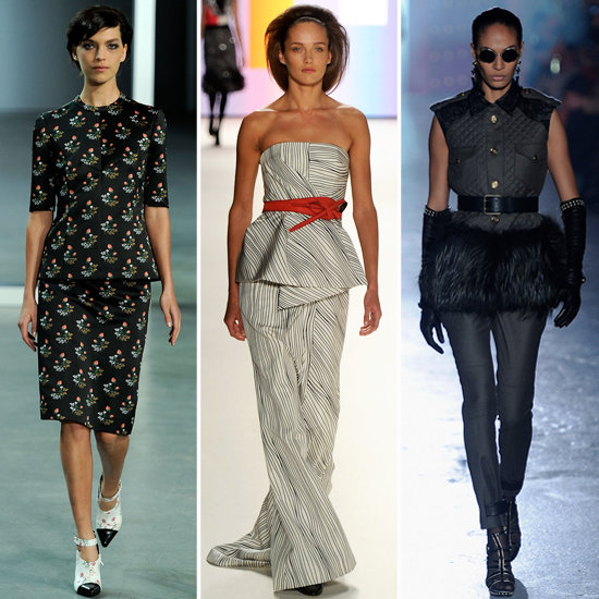 Left to right: Derek Lam, Carolina Herrera, Jason Wu