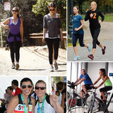 Celeb Fitness Secret: Sweating It Out With Friends