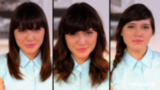 Three Easy Ways to Style Your Bangs