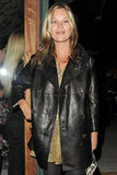 Kate Moss attended The Kills' photography book launch party in London.