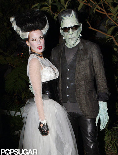 Len Wiseman and Kate Beckinsale went as another famous couple for an LA party in 2010.