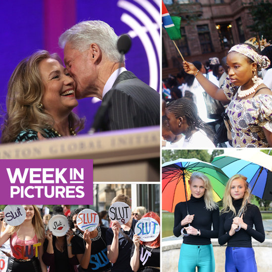 The Clintons Take NYC, Models Invade Paris, and Women Unite