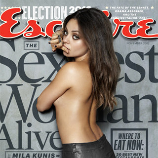 Pictures: Mila Kunis Is Esquire's Sexiest Woman Alive 2012