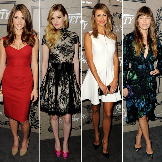 Girls Gone Glam: Stars Lead The Fash Pack At Power Of Women Lunch
