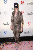 Before landing her gig as Catwoman, Anne Hathaway let out her inner feline at a 2010 Lanvin Halloween party in NYC.