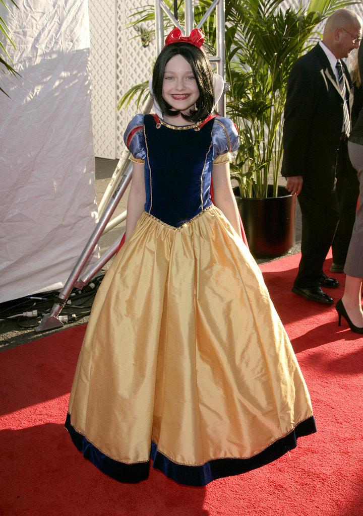 Dakota Fanning was an adorable Disney princess on an LA red carpet in 2006.