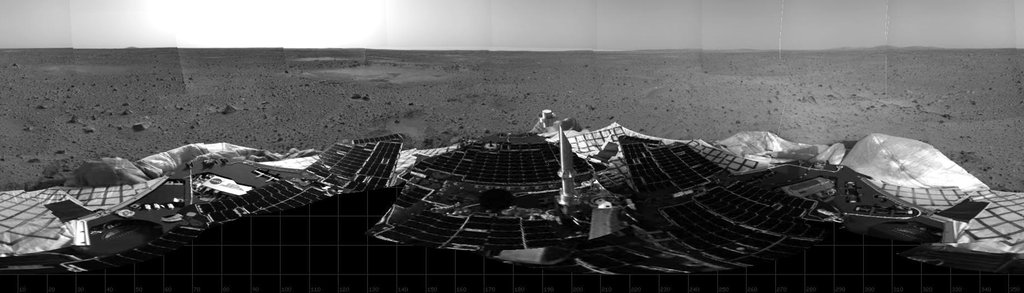 Mars Rover Spirit Lands on Mars
