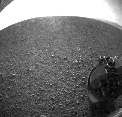 Curiosity's First Look at Mars