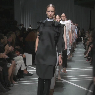 Watch Givenchy's Spring 2013 Paris Fashion Week Runway Show in Action
