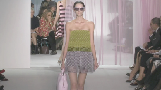 Check Out Raf Simons's RTW Dior Debut For Spring '13