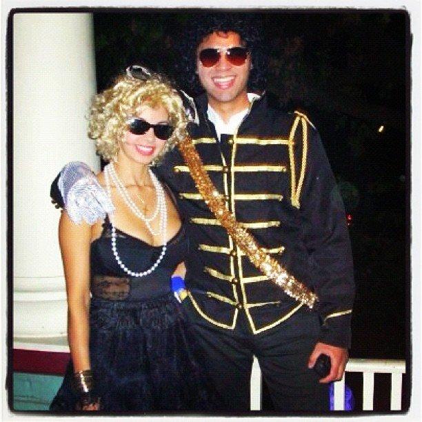 Madonna and Michael Jackson