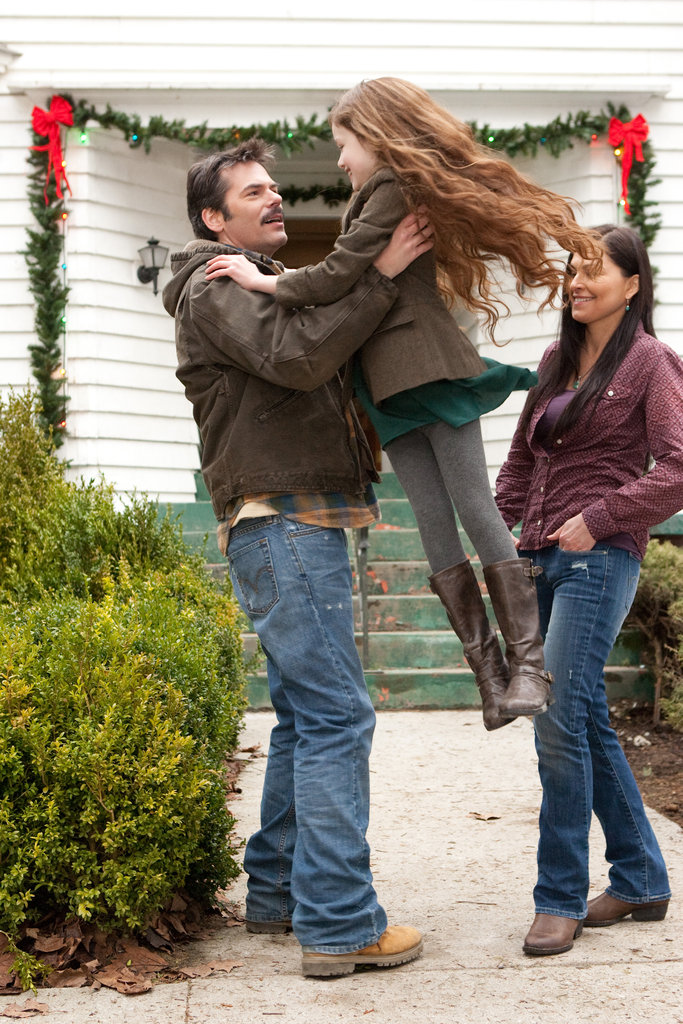 Charlie meets Renesmee in Breaking Dawn Part 2.