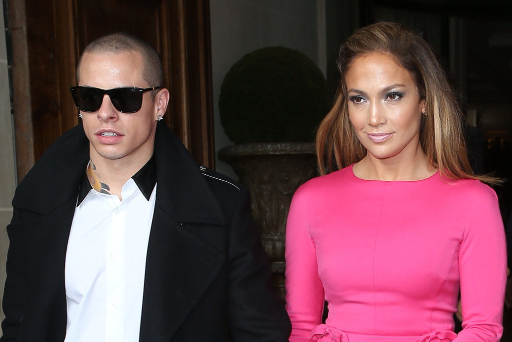 Jennifer Lopez Continues Her Busy PFW Day With Valentino and Casper