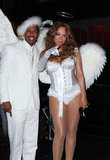 Mariah Carey and Nick Cannon chose all white for their 2009 spooky fete in NYC.