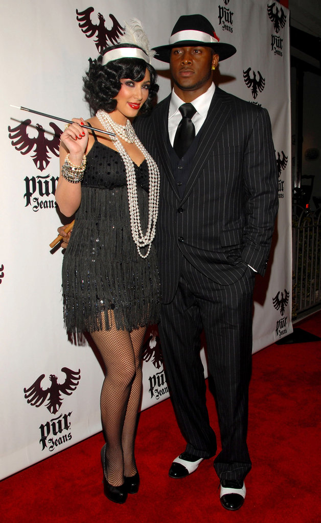 In 2008, Kim Kardashian and Reggie Bush partied the night away at LA's Pur.