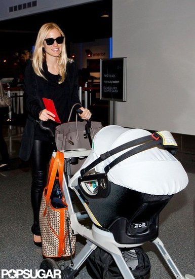 Kristin Cavallari was all smiles arriving at LAX.