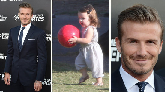"Video: David Beckham on Harper — ""It's Great to Have Another Lady in the House"""
