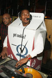 Nick Cannon deejayed an NYC party in a milk carton in 2008.