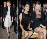 Kate and Jamie Get Front Row at Saint Laurent With Salma and Jessica